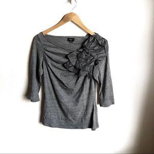 Anthropologie Deletta Volante blouse